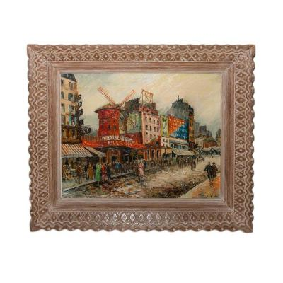 Le Moulin Rouge Frank Will  1900-1951