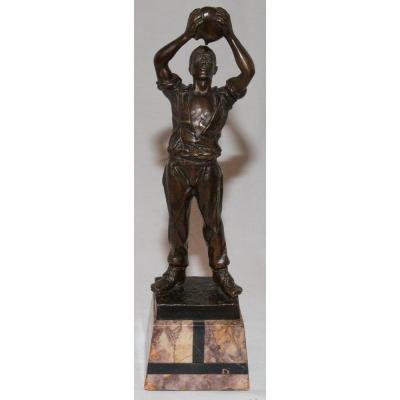 Bronze Le Buveur  G Omerth Circa 1920