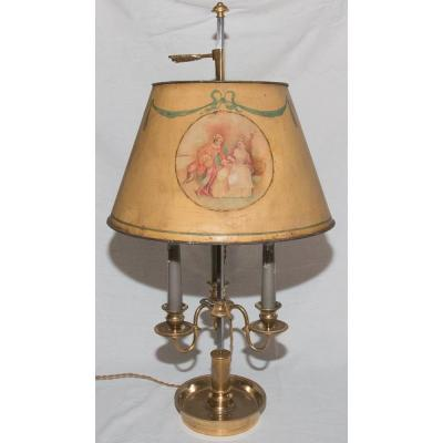 Lampe Bouillotte Style Louis XVI Circa 1860