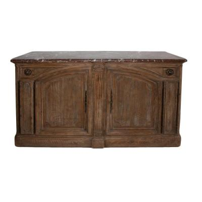 Hunting Buffet In Solid Oak Stamped Mailfert Amos