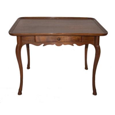 Louis XV Walnut Cabaret Table