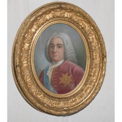 Portrait De Stanislas Leszczynski Milieu XIXe Siècle
