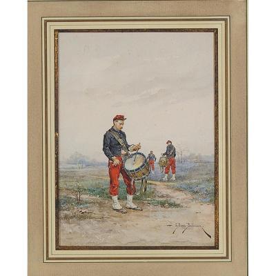 Drums By Etienne-prosper Berne-bellecour