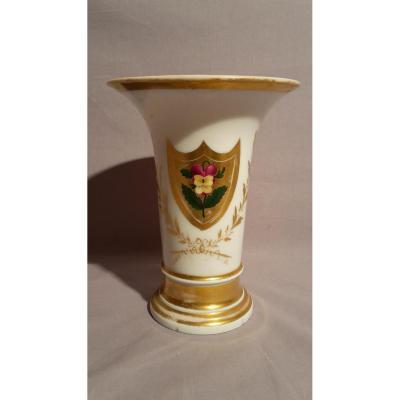 Vase-Porcelaine de Paris-XIXe s.