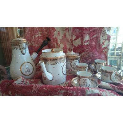 Porcelaine- Bordeaux-  Verneuilh et Vannier/Alluaud et Vannier- XVIIIe S.