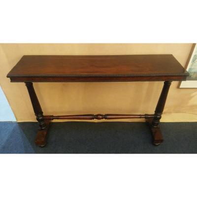 Table Console- Palissandre-anglais-XIX E S.