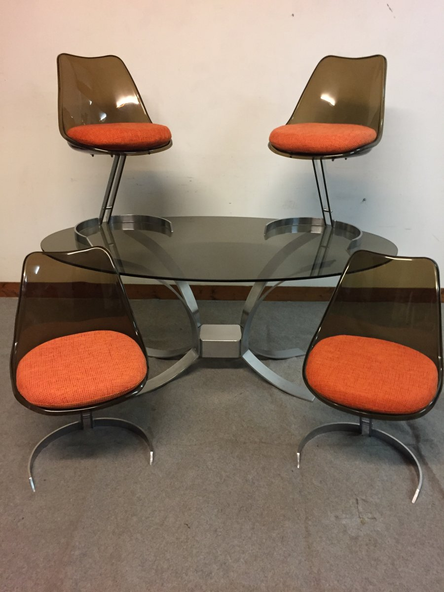 Table Et Ses 4 Chaises Tabacoff