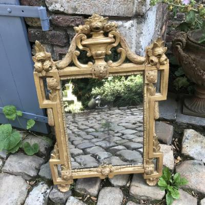 Louis XVI Mirror In Golden Wood