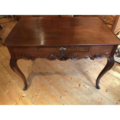 "Rare Port Table ""cabaret"" Mahogany From Cuba Eighteenth Century"