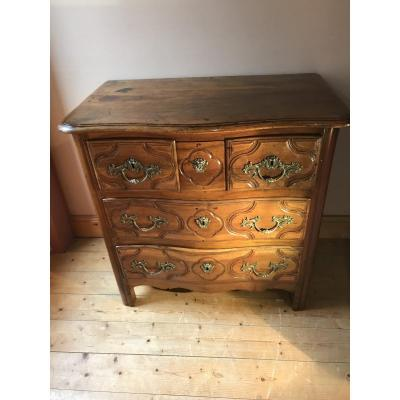 18th Century Parisian Commode In Walnut