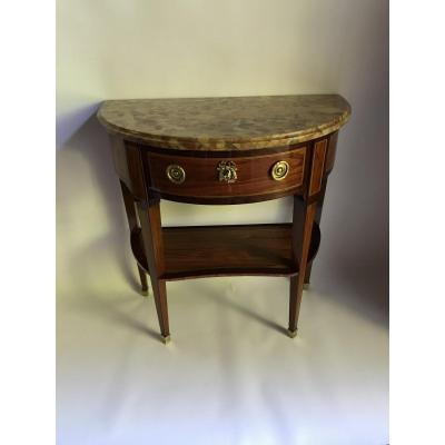 Louis XVI Console Stamped Jp Letellier