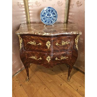 Small Louis XV Commode, 18th Century