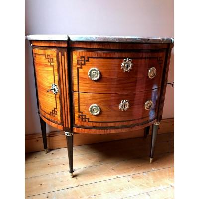 Louis XVI Half-moon Commode