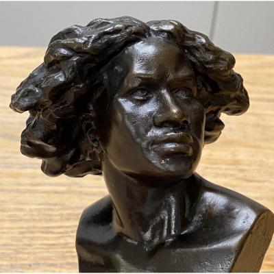 Pierre Félix Fix-Masseau (1869-1937), buste en bronze