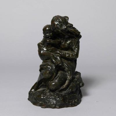 """Jean-baptiste Carpeaux (1827–1875) Bronze """"notre-dame-du-saint-cordon"""""""