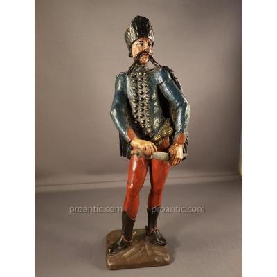 Statuette D 'un Hussard