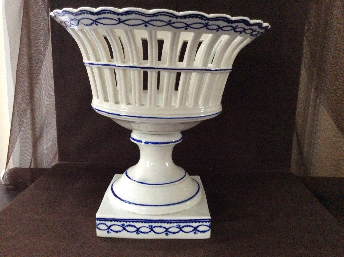 Corbeille en porcelaine de  Tournai