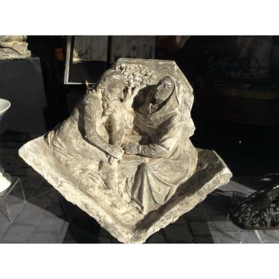 Sculpture Bas Relief