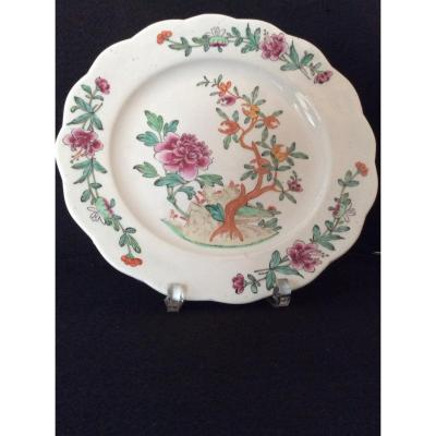 Copy Of China Porcelain Plate From Tournai