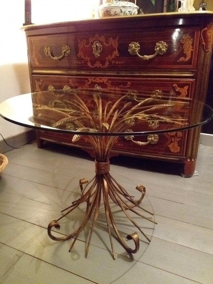 Table Basse Coco Chanel épis De Blé