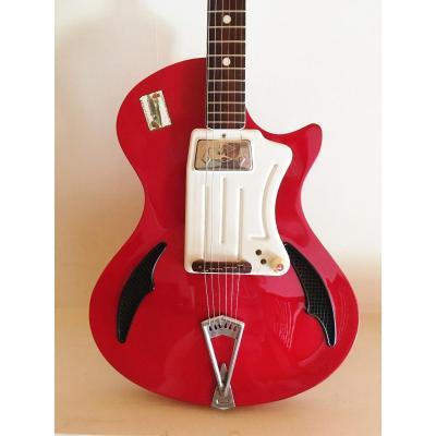Guitare Vintage Années 60 Wandré Davoli
