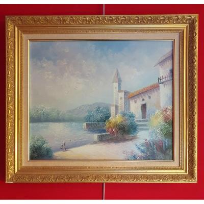 Oil On Canvas - Du Bouis - 20th