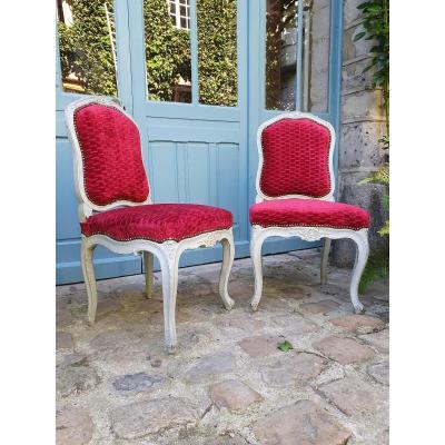Paire de Chaises De Salon