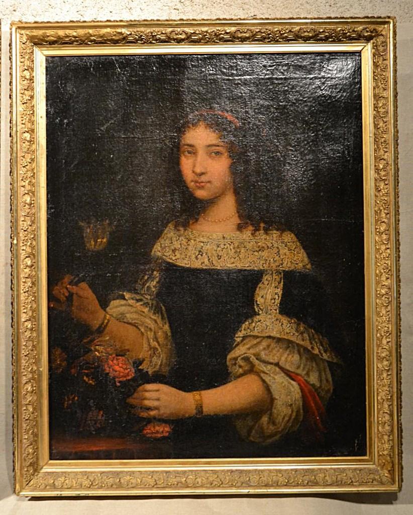 Paire De Portraits, Ep. Louis XIV, Daté 1668