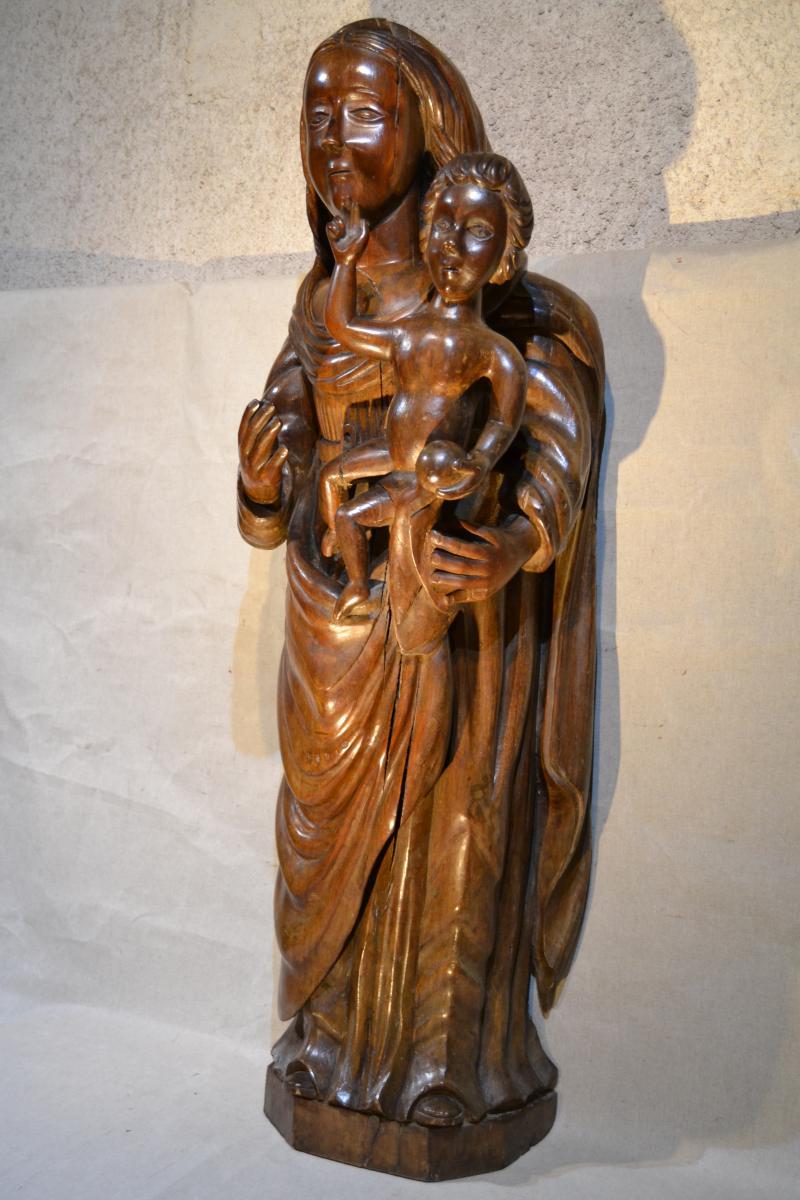 Vierge à l'Enfant, Europe Centrale, XVIIIe