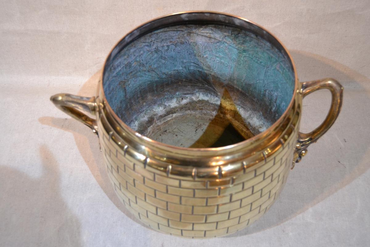 A. Lonet, Cache Pot, Vers 1900-photo-1