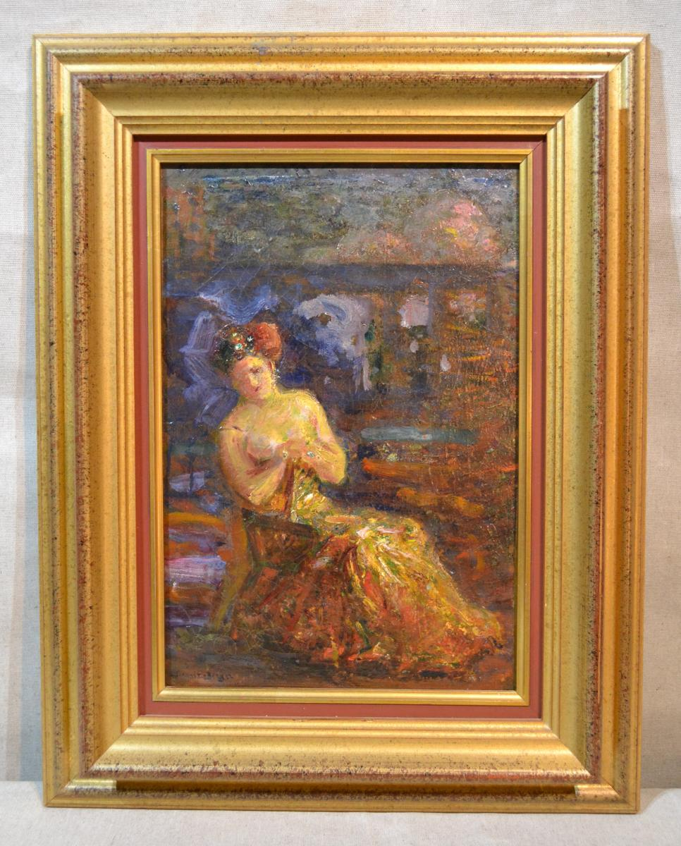 Twentieth Shepherd, Hst Woman In The Armchair (signed), Twentieth