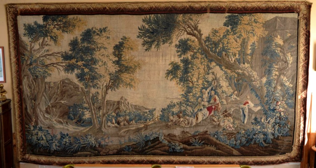 """Aubusson Eighteenth """"important Tapestry"""""""