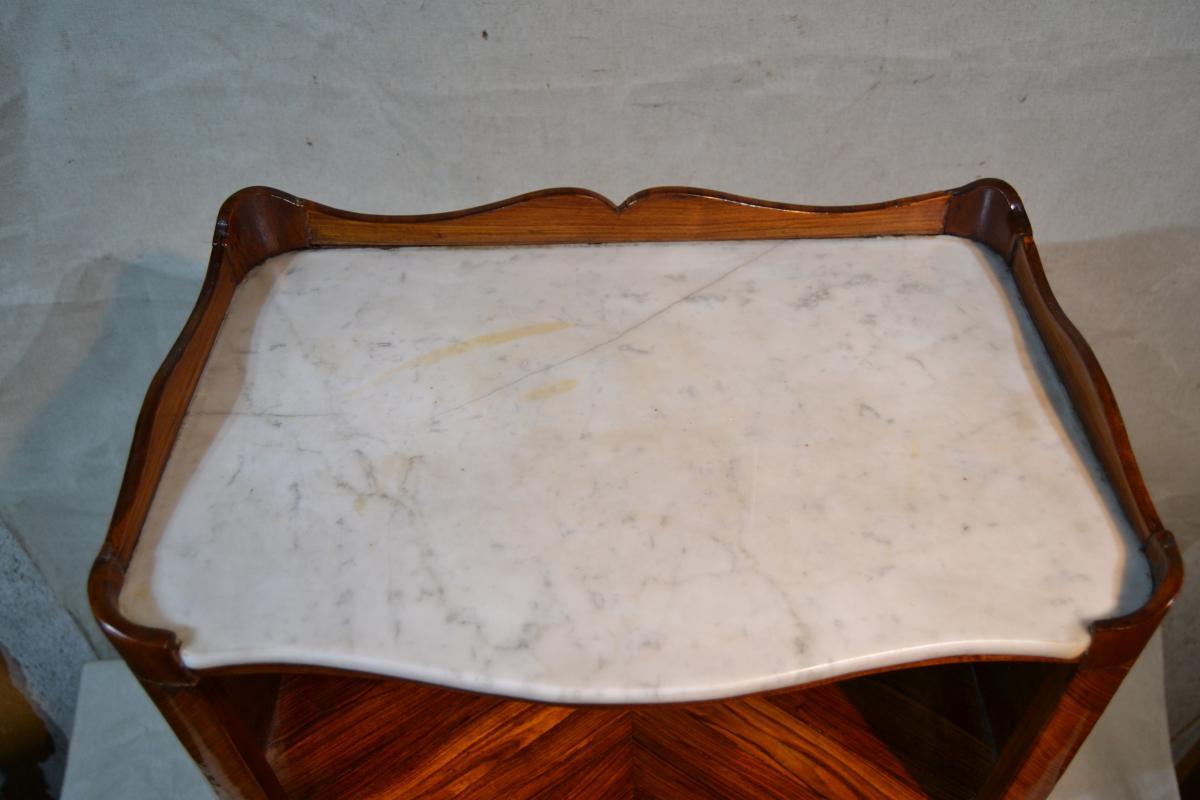 Chardon Barthélemy-denis (1764), Table De Salon à Encas, Epoque XVIIIe-photo-4