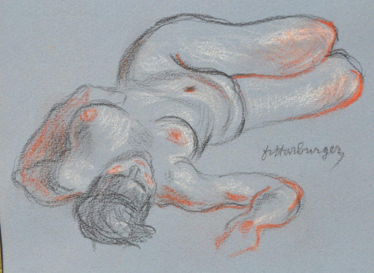 Francis Harburger (1905-1998), Drawing