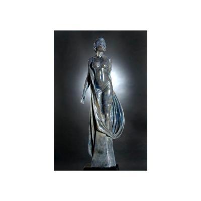 "Bronze ""l'idole"" De Marie-paule Deville-chabrolle"