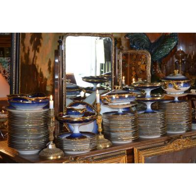 """Important Service Porcelaine """"théodore Haviland"""", 117pièces"""