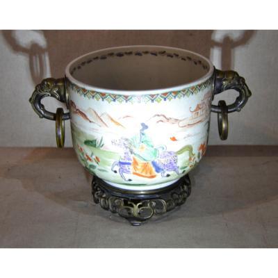 "China, ""cache Pot"", Circa 1900"