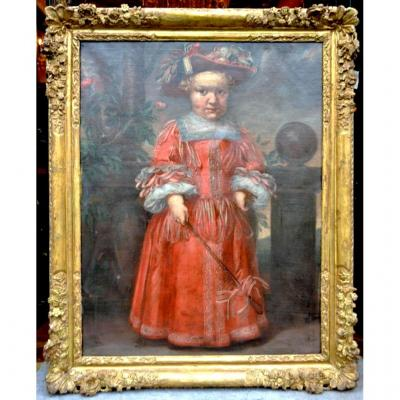 """Great Hst """"dwarf Of The Court Of Spain"""", Seventeenth Time"""