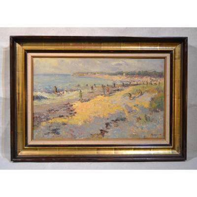 Albert Malet (1912-1986) Ile De Noirmoutier, Twentieth