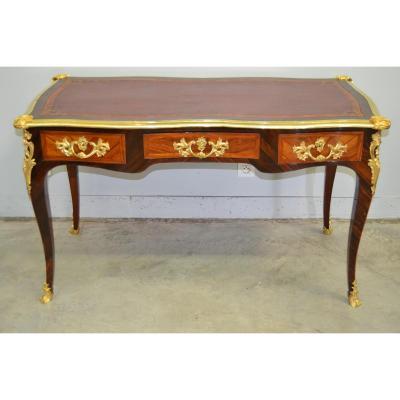 """Bon Durand (estp), """"bureau Plat"""", d'époque Louis XV, XVIIIe"""