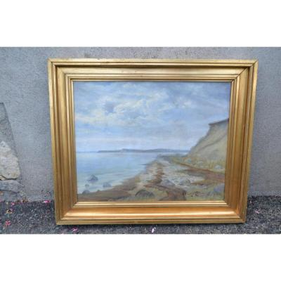 "Aleksei Vasilievich Hansen(1876-1937), Hst ""bord De Mer"", XXe"