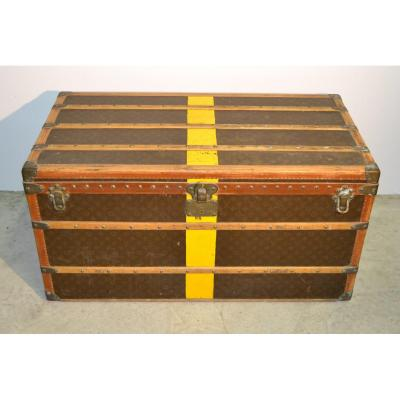 Louis Vuitton, Malle Courrier Basse For Lady, Around 1920