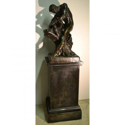 Edme DUMONT (1720-1775), Important Bronze