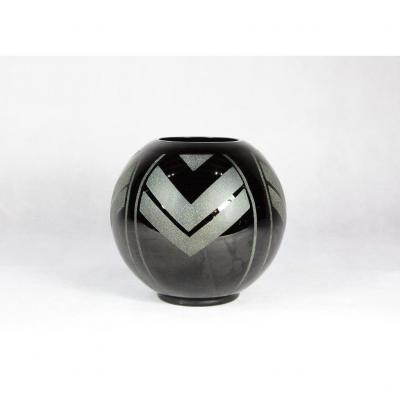 Art Deco Ball Vase, Work 1930