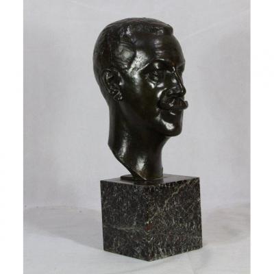 Jean Carlus (1852-1930) Bronze Sculpture, 1930