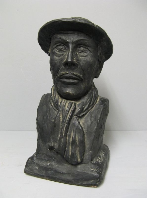 Minor Bust Signed A. Locquet. Terracotta.