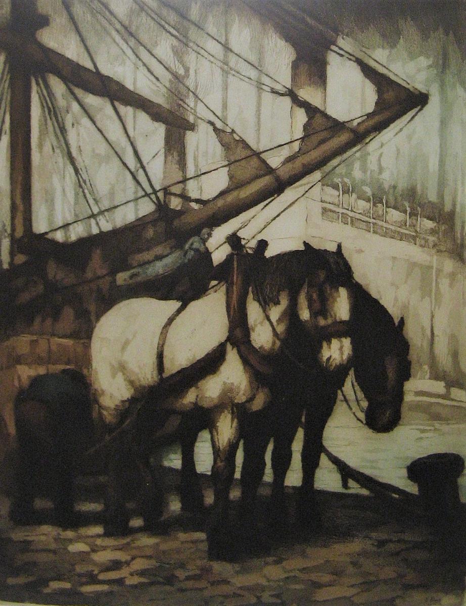 Strong Water Marine De Kurt Peiser (1887-1962).