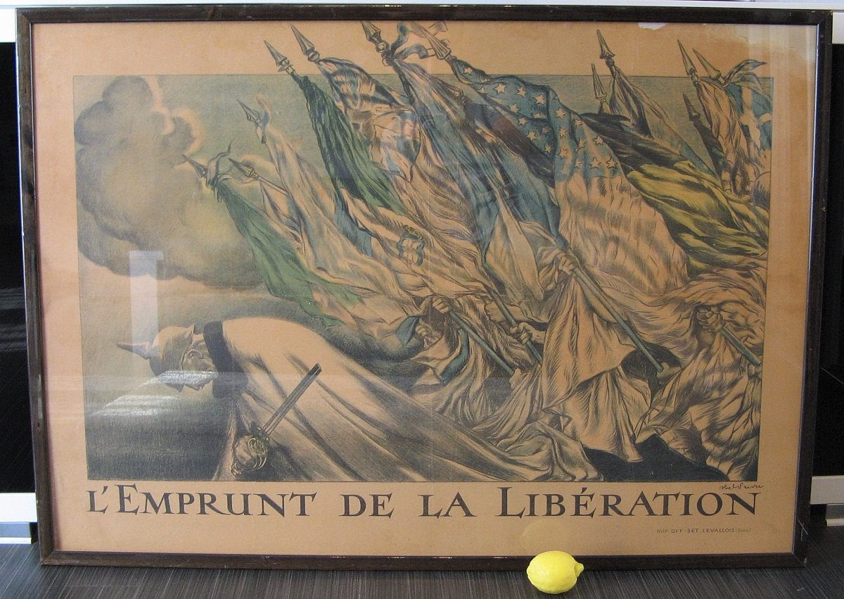 "Poster ""loan Of Liberation"" War 14/18."