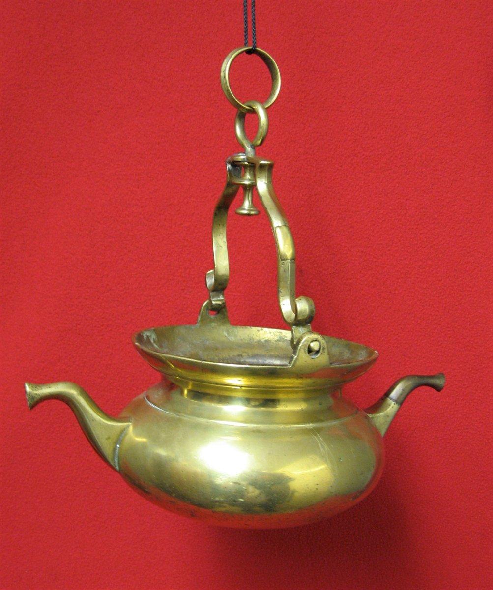 Puisette Aquamanile Bronze XVIIIe