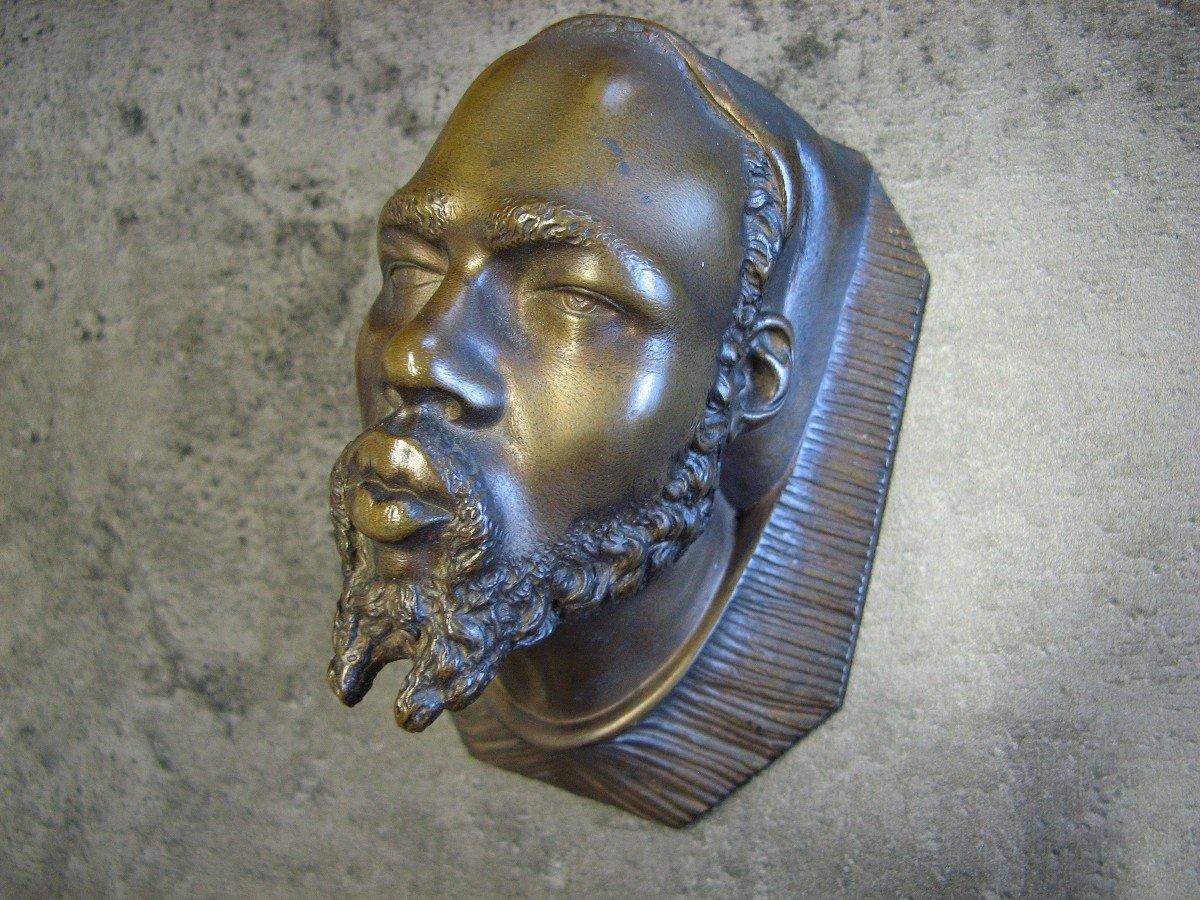 Pair Of Orientalist Pyrogen In Bronze Late Nineteenth.-photo-3
